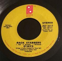 "o'jays ""back stabbers"""