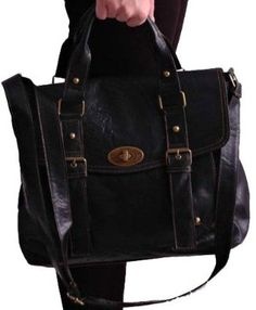 207959c4 EyeCatchBags - Melody Satchel Faux Leather Ladies Messenger Shoulder Bag  Brown