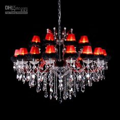 chandeliers with shades - Google Search