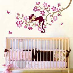 nursery murals for girls   ... -Stickers-Art-Mural-Children-Wallpaper-Kids-Girl-Nursery-50-70cm.jpg