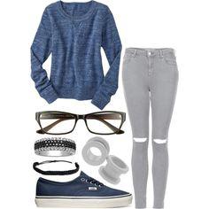 Gap Heathered Sweater - light indigo TOPSHOP MOTO Grey Rip Leigh Jeans Vans Authentic Shoe - Blue Marshmellow 1 CT. T.W. White & Color-Enhanced Black Diamond Band Pura Vida Bracelets Flat Braided Bracelet