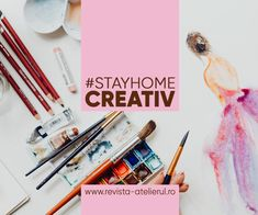 Continuăm seria #StayHome Creativ cu Aleksandra Zaiţ, Freelance Content Marketer pentru zona de Design Interior & Arhitectură, şi prietenă dragă a Revistei Atelierul. Design Interior, Architectural Digest, Events, Creative, Journals, Atelier