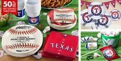 Texas Rangers Party Supplies - Party City
