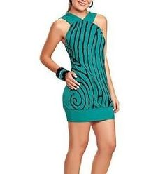 Mini Vestido Verde - Balada - Noite