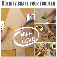 Finger-painting Christmas tree is perfect Christmas tree craft for toddlers. It has so many benefits for them and they LOVE it. Christmas Activities For Families, Christmas Arts And Crafts, Christmas Activities For Kids, Holiday Crafts For Kids, Toddler Christmas, Craft Activities For Kids, Christmas Ideas, Xmas Crafts, Family Activities