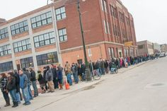 PHOTOS: Hundreds of Detroiters stood in line for Crack Fries from the newly opened HopCat