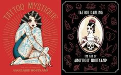 Two new Tattoo Flash books by Angelique Houtkamp.  Very cutesy, simple and old school tattoos