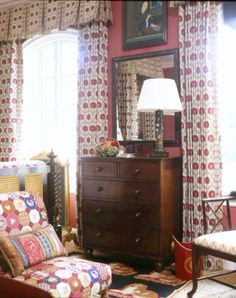 Love the rug in front of dresser.
