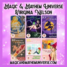 In need of some Magic in your life?  Look no further, the amazing Virginia Nelson has all the Elements in her magical tales.   #MagicMayhemUniverse #ebook #pnr #UnleashTheMagic #MMUSeries #paranormal #author #reading