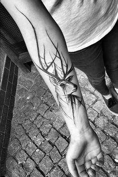 #Tattoo #deer