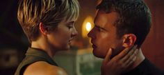 "In the latest trailer for Insurgent, Tris tells Four why she has that short haircut—and it's not because the actress playing her starred in The Fault in Our Stars. ""I wanted something different,"" Tris says. [ew_brightcove videoID=""4079997745001""]"