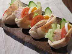 pita bread sandwitch