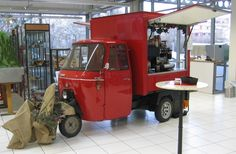 mobile Espressobar fr Messen und Events, Mnchen, Bayern, Kaffeebar, Cafe-Bar, Espressomobil, Kaffeemobil, Kaffeestand, Kaffeewagen, Kaffee3rad, Piaggio, Ape