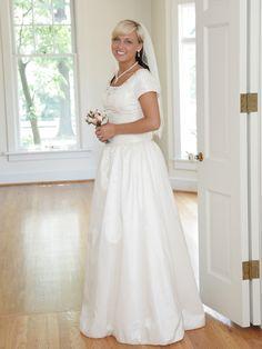 New Wedding Dresses for Older Brides over
