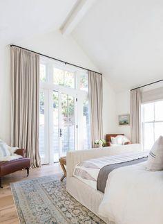Light & Airy Master Bedroom