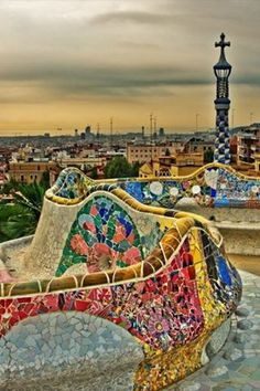 Colorful | city #barcelona online http://travellingcollections.blogspot.com