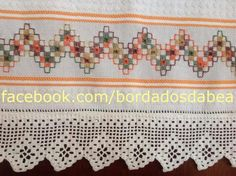 Hardanger Embroidery, Learn Embroidery, Ribbon Embroidery, Embroidery Stitches, Embroidery Patterns, Bordado Tipo Chicken Scratch, Beach Crochet, Swedish Weaving, Crochet Wedding