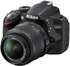 Nikon D3200 Digital SLR Camera with 18-55mm  Black,24.2MP http://www.taaol.com/camera-camcoders