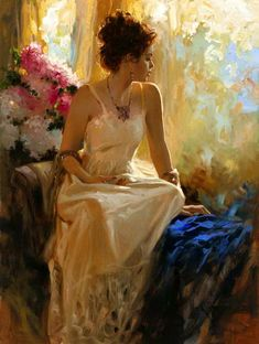 Beautiful Paintings by Richard S Johnson  The luminescent beauty and lyrical quality of Richard S Johnson's work is what captivates collectors today. Old Masters technical virtuosity, pre-Raphael romanticism, and contemporary expressionism and abstraction all combine to create his unique works of touching depth and artistry.