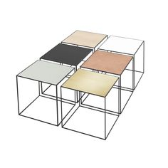 Modern and contemporary Danish and Scandinavian style Metal Side Tables (420x420)