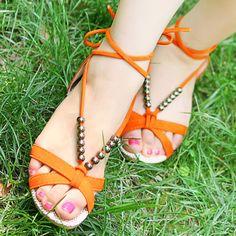 love it! #flats #shoes #sandals