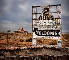 Two Guns, Arizona ghost town