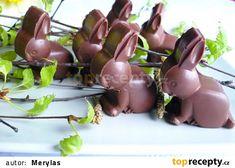 Čokoládoví zajíčci s kokosovou náplní recept - TopRecepty.cz Eggplant, Fruit, Vegetables, Food, Meal, The Fruit, Essen, Vegetable Recipes, Hoods