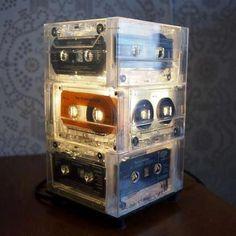 Mix-tape Lamp! :)
