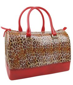 Leopard Jelly Candy Satchel Handbag via assortedflavasfashion. Click on the image to see more!