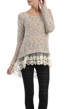 I like the sweater.