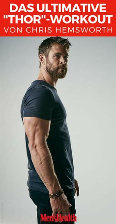 """""""Thor""""-Star Chris Hemsworth verrät das Geheimnis seiner Superkräfte – und sein ultimatives Hammer-Training"""