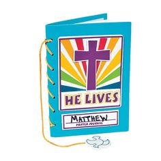 Could we change this to the Wordless Book-Gospel Colors???  He Lives! Prayer Journal Craft Kit - OrientalTrading.com