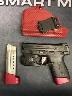 Tactical Equipment, Tactical Gear, Weapons Guns, Guns And Ammo, Handgun, Firearms, M&p Shield 40, Inside The Waistband Holster, Everyday Carry Gear