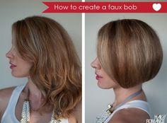 Faux Bob by Long Hair