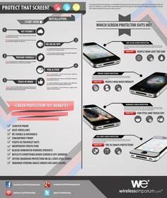 Protect that screen #infographic