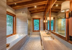 Lot 43_Master Bath_Builtin Tub_Vanity_Wood Ceiling_Tile_Slab.jpg