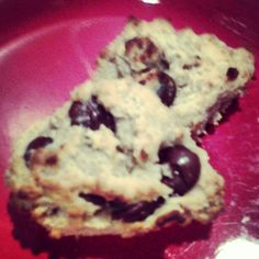 Gluten Free Chocolate Chip Scones - made these this morning and they were amazing. Try these!