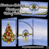 Christmas Holidays Money Card