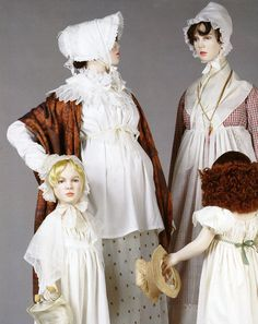 Maternity Wear - Napolean and the Empire of Fashion Exhibit - Regency era