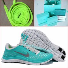 Mens Tiffany CO Necklace and Lime Green Lace Nike Free 3.0 V4 New Green Reflect Silver