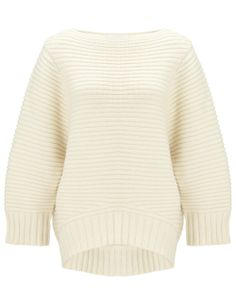 Ivory Cup Sleeve Jumper | Chalayan | Avenue32