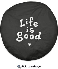 love this spare tire cover for my Jeep:)
