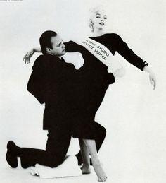 Monroe and Brando