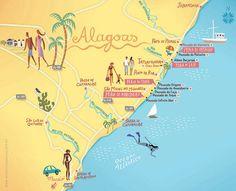 Mapa Alagoas, UNILEVER, 2010.