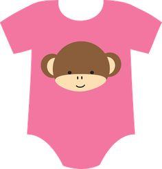 BABY GIRL ONESIE CLIP ART