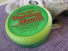 O'Keeffe's Working Hands Hand Cream--the leading cream for dry hands that crack and split--really works!