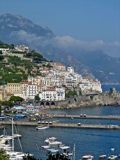 ✿⊱ Amalfi Coast, Italy