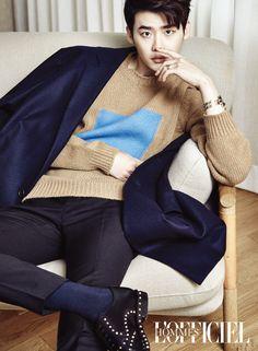 Lee Jong Suk - L'Officiel Hommes Magazine October Issue '16