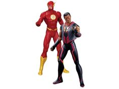 The New 52 Figure Two-Pack - The Flash Vs. Vibe By DC Collectibles