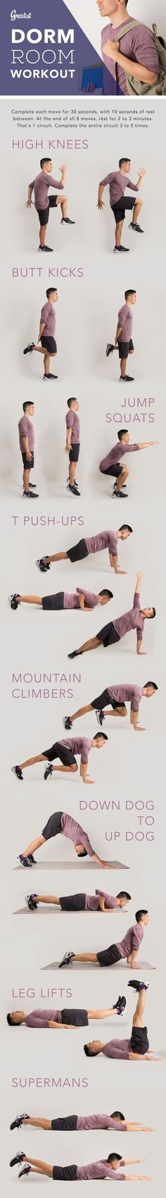 8 Bodyweight Exercis